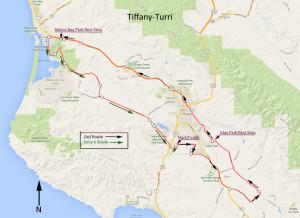 Tiffany-Turri map